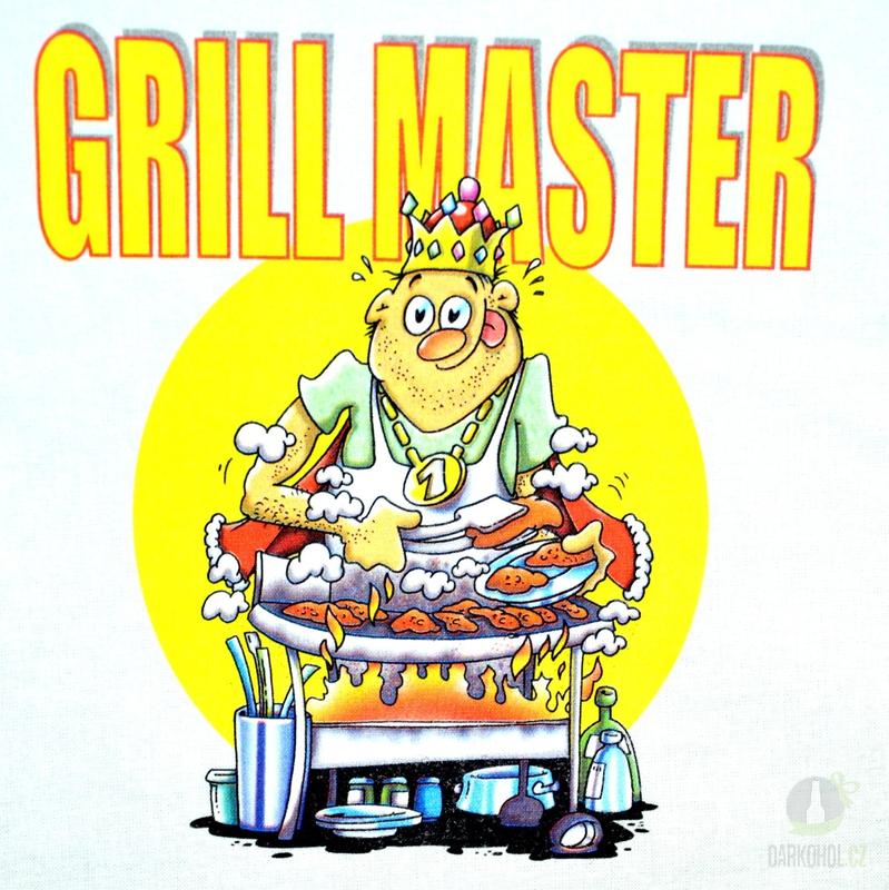 Hlavní kategorie - Zástěra bílá- Gril master
