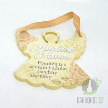 Hlavní kategorie - Závěsná plaketka andílek Ámos
