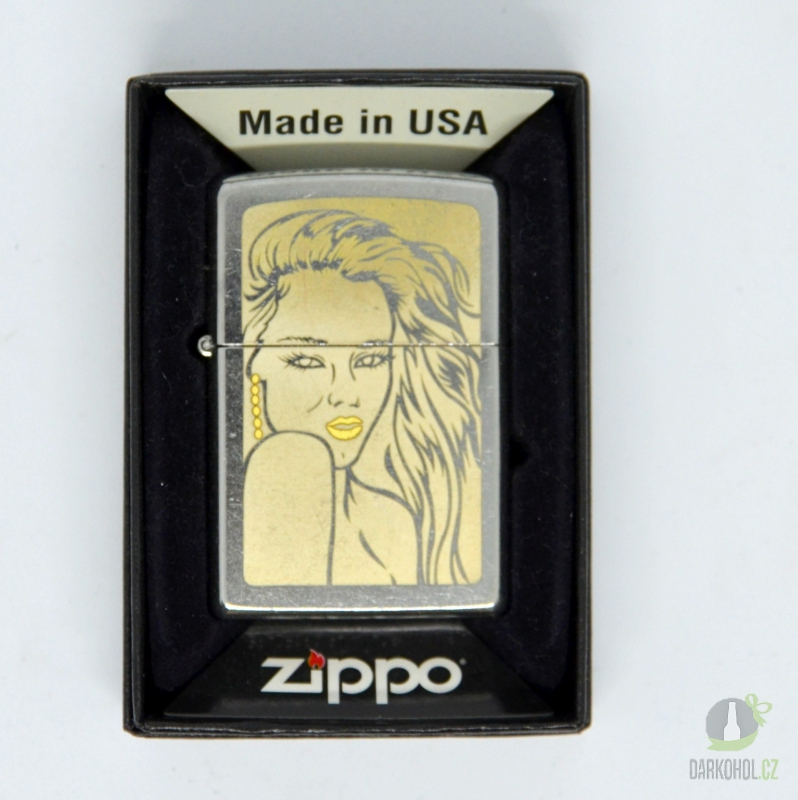 Hlavní kategorie - Zapalovač Zippo žena