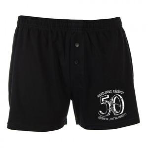 Trenýrky černé-Nedělejte závěry 50
