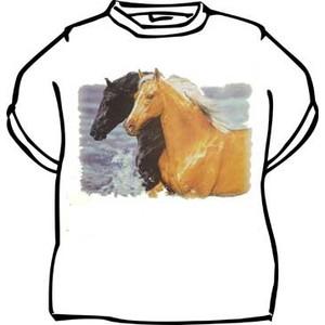Triko -Koně bílá