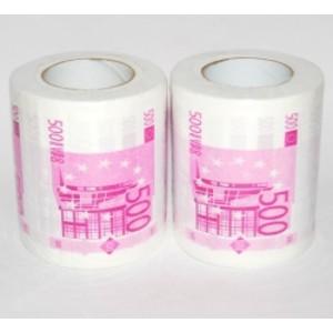 Toaletní papír 500Euro-3color