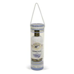Ručník ve tvaru lahve vodky Kristoff