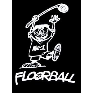 Triko Floorball černá