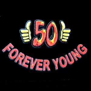 Trenýrky černé-Forever young 50