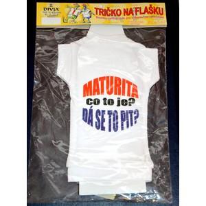 Tričko na láhev- Maturita