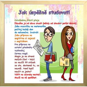 Rámeček velký-Jak úspěšně studovat!