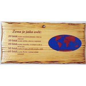 Žertovná tabulka nástěnná-Pán bůh stvořil - Darkohol.cz 3d1d44a1ab