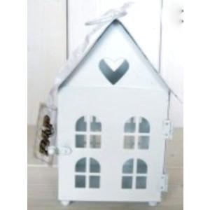 Kovová lucerna- domek