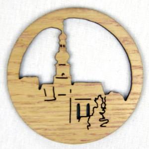 Ozdoba Kostel v kruhu přírodní
