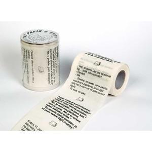 Toaletní papír s vtipy