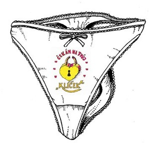 Kalhotky tanga bílé-Manžel na pracovní cestě - Darkohol.cz ced0809b81