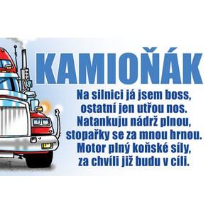 Žertovná tabulka nástěnná-Kamion anděl - Darkohol.cz 2b833d3416