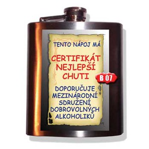 Placatice-Tento nápoj má certifiká