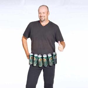 Pivní pás na 6 piv