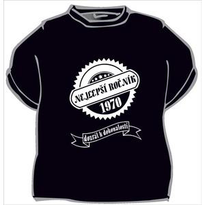 Triko Nejlepší ročník 1970 černá