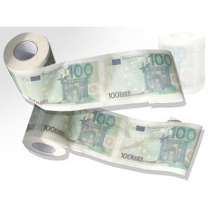 Toaletní papír 100EUR