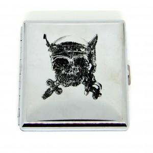 Cigaretové pouzdro lebka 20ks
