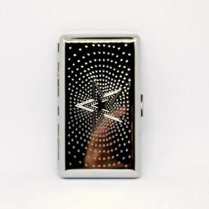 Cigaretové pouzdro na slim chrom/venetian klip