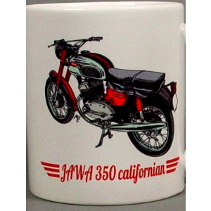 Hrnek retro Jawa 350 Califorman