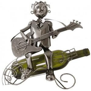 Kovový stojan-Kytarista