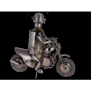 Kovový stojan Motorkář
