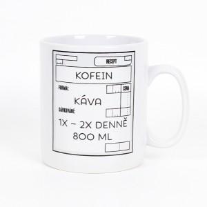 Megahrnek Recept kofein