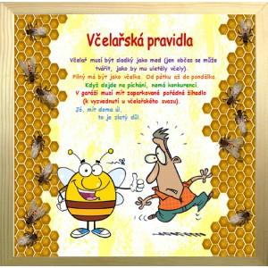 Rámeček velký-Včelařská pravidla