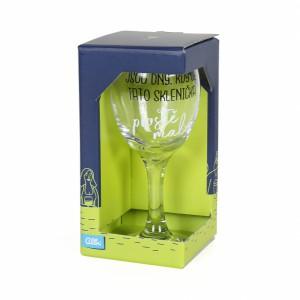 Sklenice na víno Jsou dny kdy je tato sklenice malá