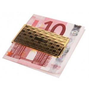 Spona na peníze assort zlatá