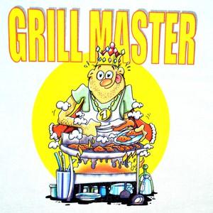 Zástěra bílá- Gril master